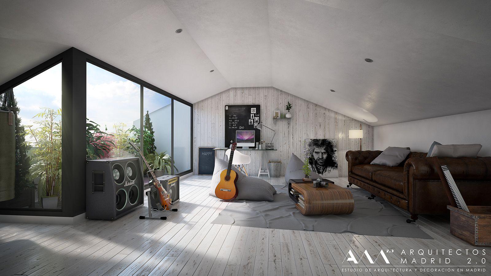Reformas De Viviendas Por Arquitectos Madrid 043 Deco  ~ Ideas Para Reformar Una Casa Vieja