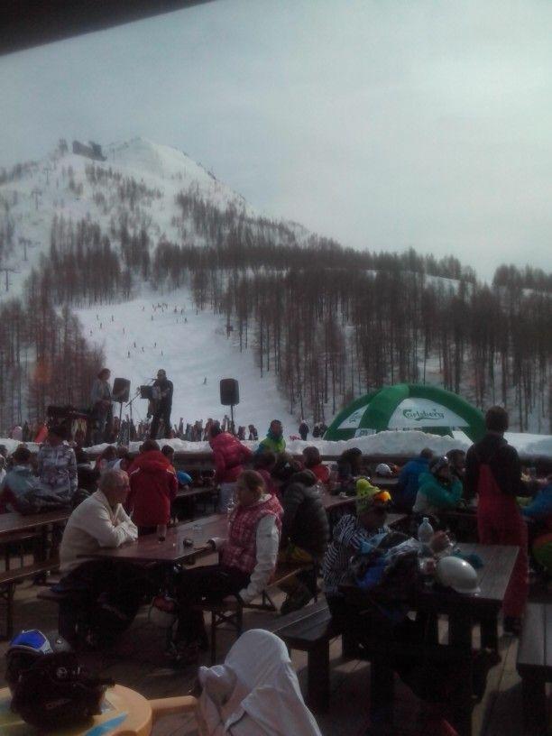 Rifugio Larici -madesimo skiarea - italy