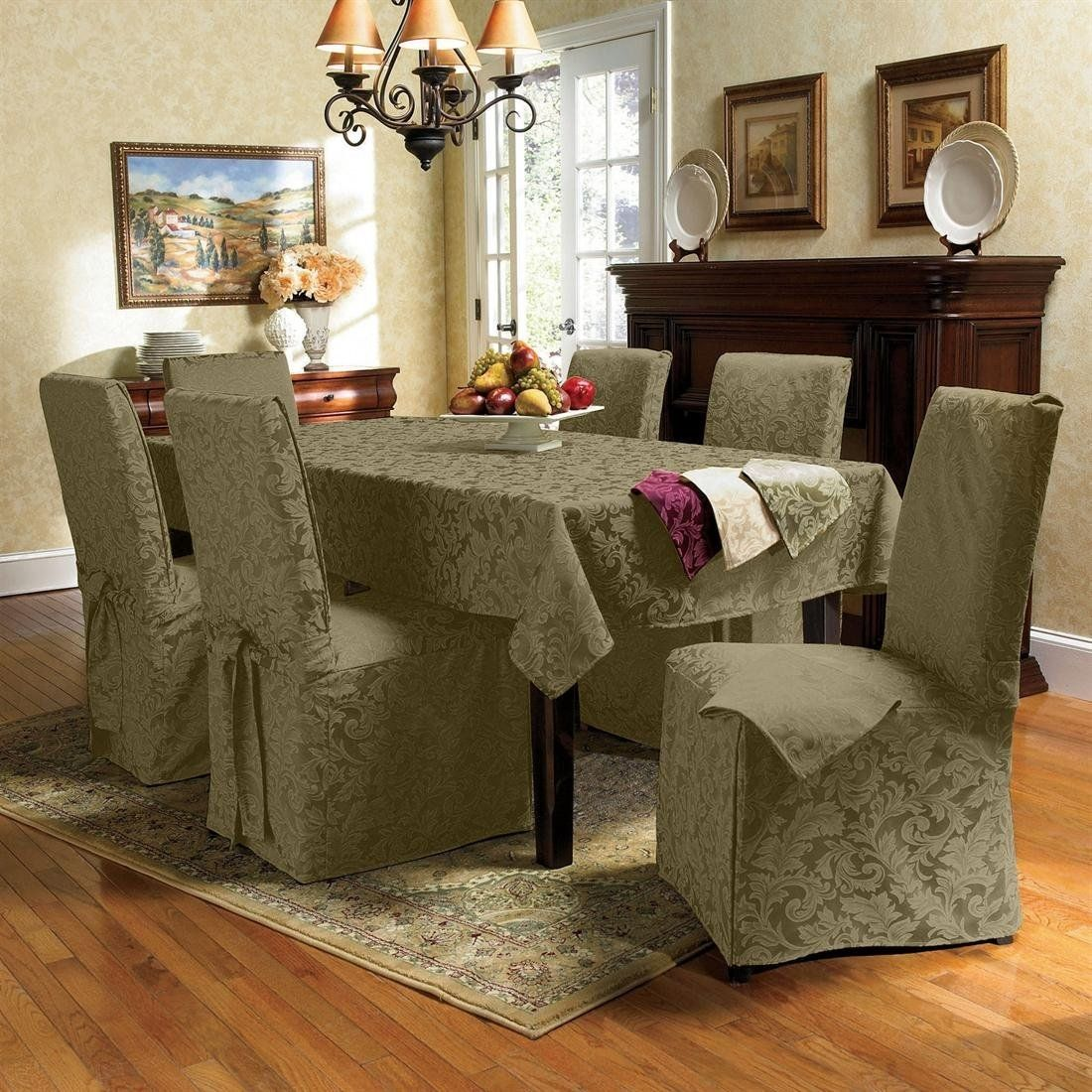 Large dining chair cushion covers