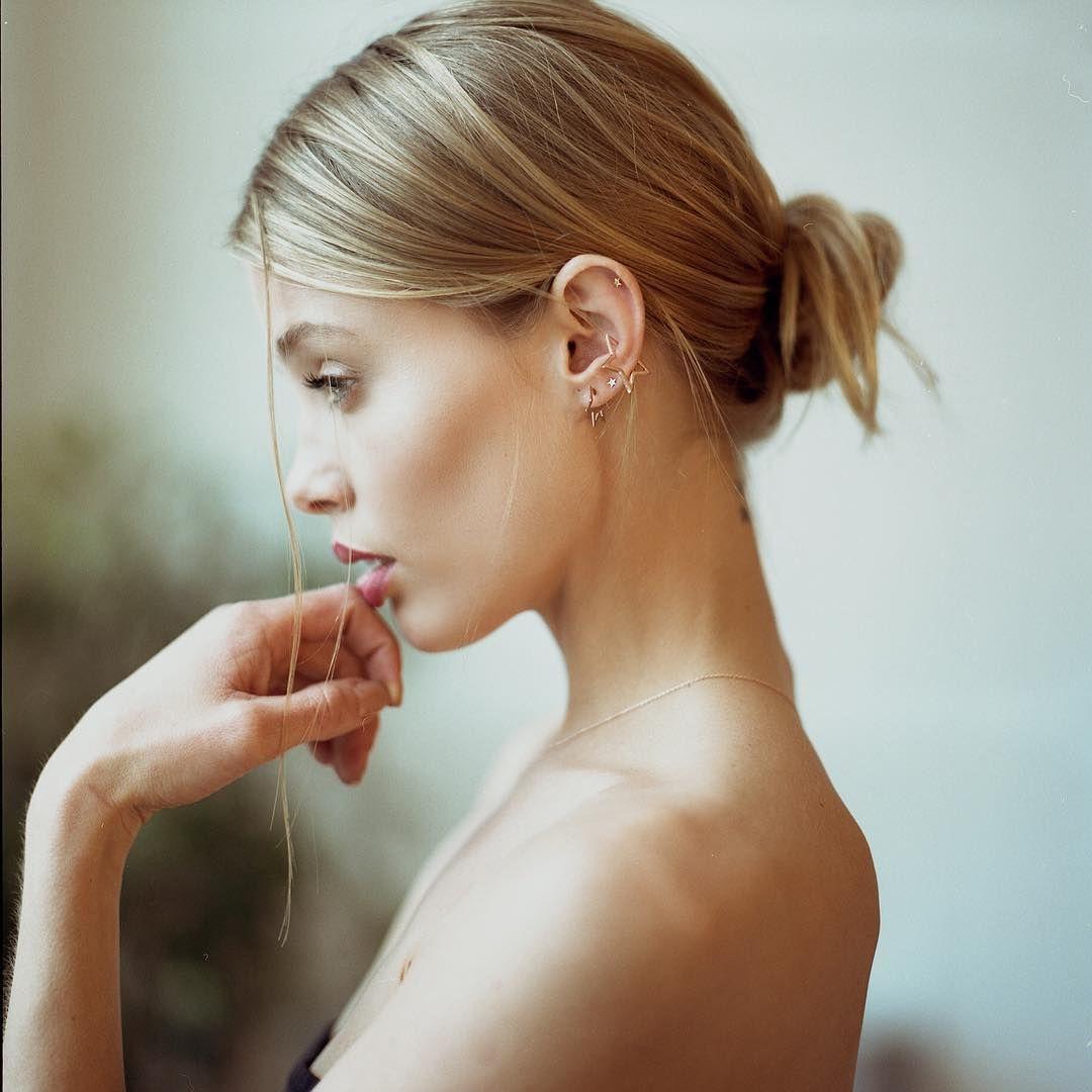 Allie Jordan pin on close up beauty