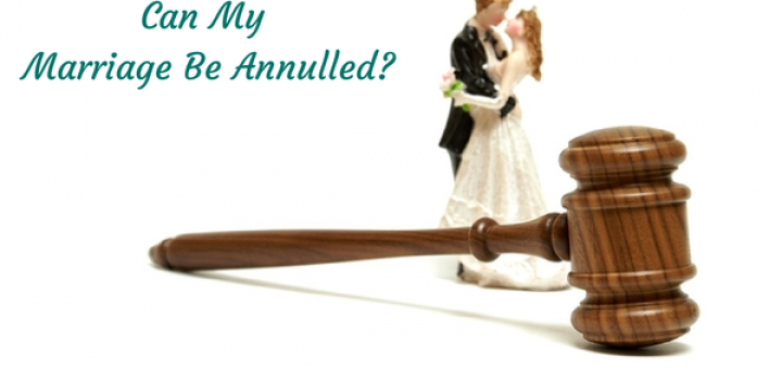 How Long Can I Be Married To Get An Annulment