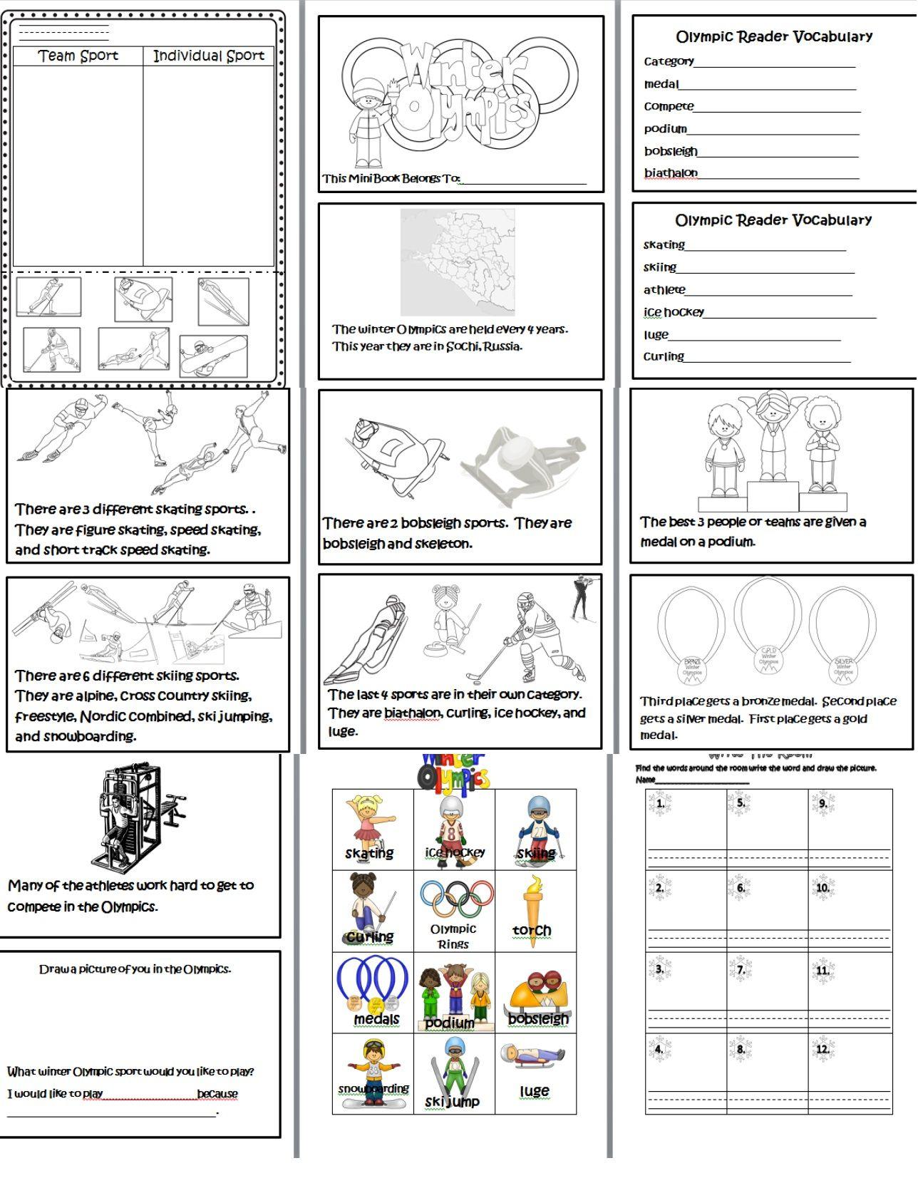 Winter Olympics Http Www Teacherspayteachers Com Product Winter Olympics 1026699 Homeschool Olympics Olympics Activities Kids Olympics [ 1653 x 1288 Pixel ]