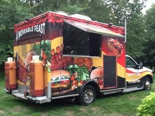 Ambulance Food Truck