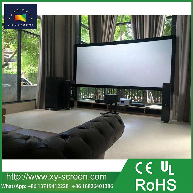 Pin By August On Fixed Frame Projector Screen 100 Inch Projector Screen Projector Screen Manufacturing