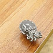 fbshop (TM) Lovely Cartoon de cerámica pomos/tiradores de asas/para armarios de cocina, armarios, armario, cajón, aparador, papelera, pecho etc. Vintage DIY Decoración del hogar, cerámica, Octopus, 2 unidades