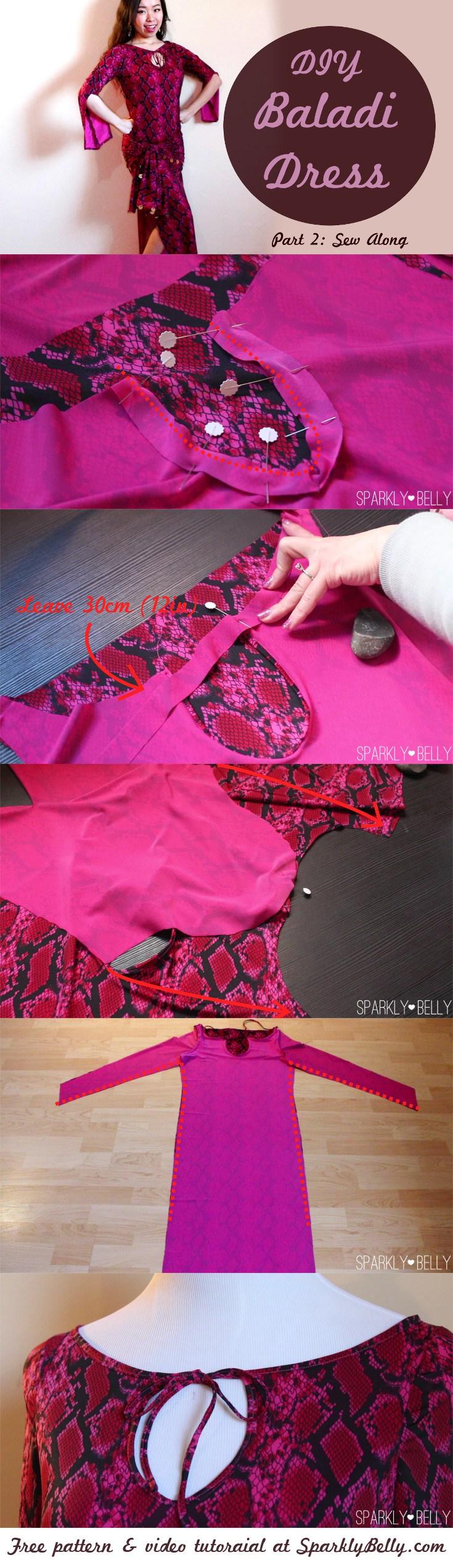 DIY Baladi Dress / Saidi Dress Pt 2: Sew Along | Tribales, Traje de ...