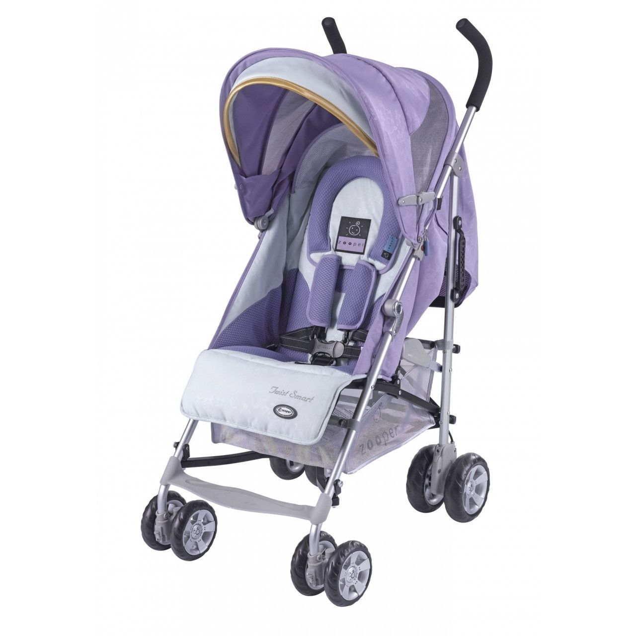 Zooper Twist Smart Umbrella Stroller Lavender Stroller