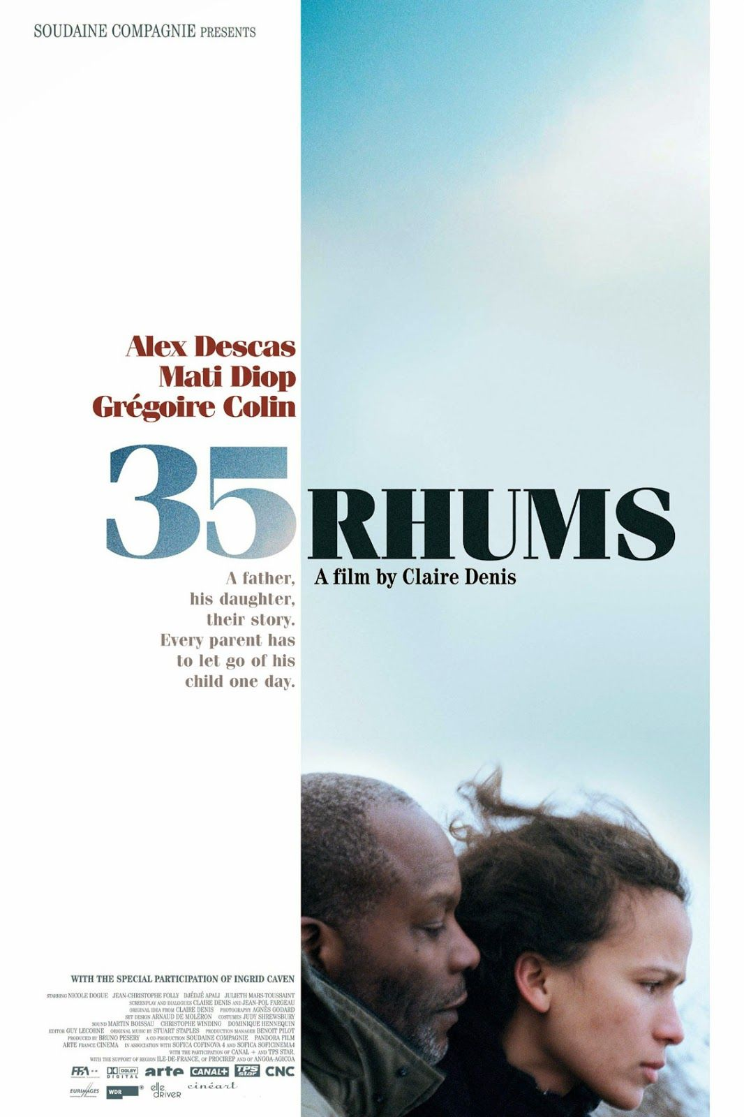 Discreet Charms Obscure Objects 35 Rhums Aka 35 Shots Of Rum Dir Claire Denis 2008 Movie Director Alternative Movie Posters Film