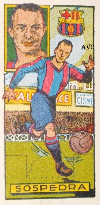 SOSPEDRA (F.C. Barcelona - 1942-43)