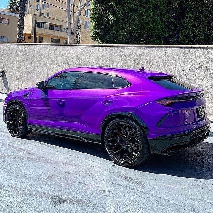 Purple Lamborghini Urus.💲 💲@moneymoney875 💲 - Phot