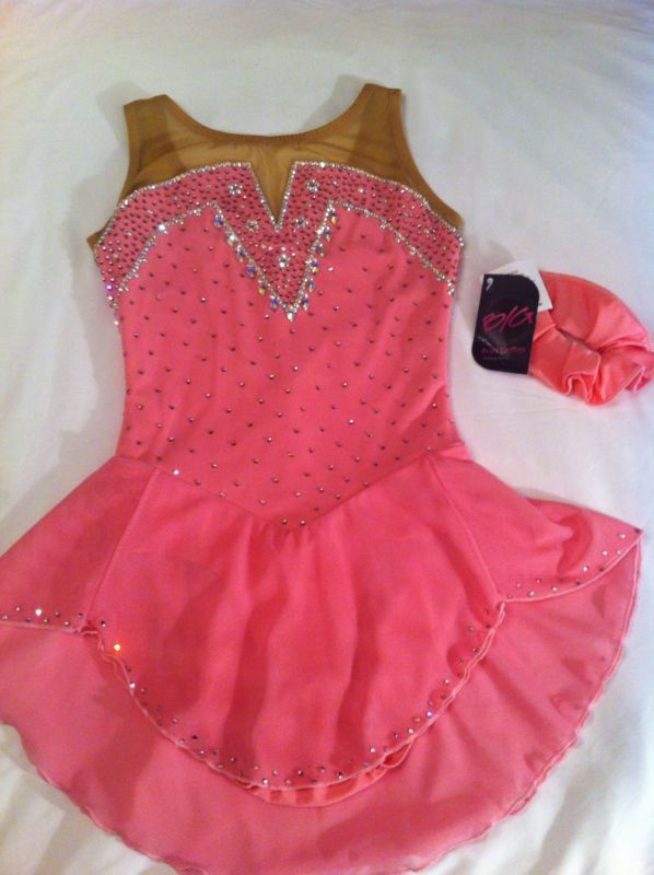 Sale! Brad Griffies NWT Skating Competition Dress Swarovski -Size Adult XS (0-2)