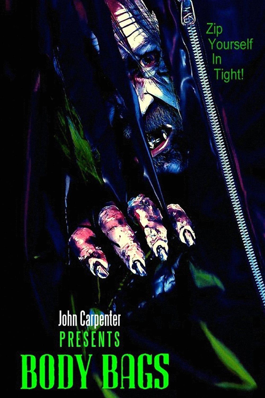 Body Bags Film Completo In Italiano Hd John Carpenter Body Bag Horror Movie Posters