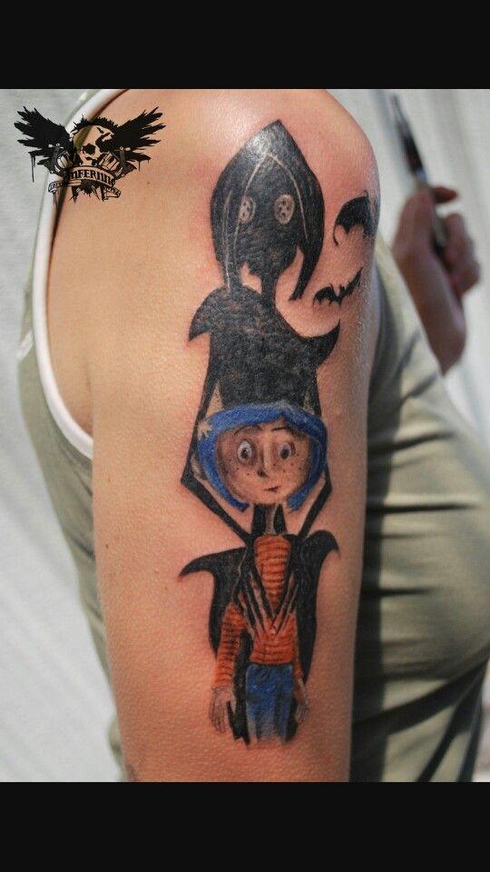 Coraline Tattoo Coraline Tattoo Coraline Tattoos