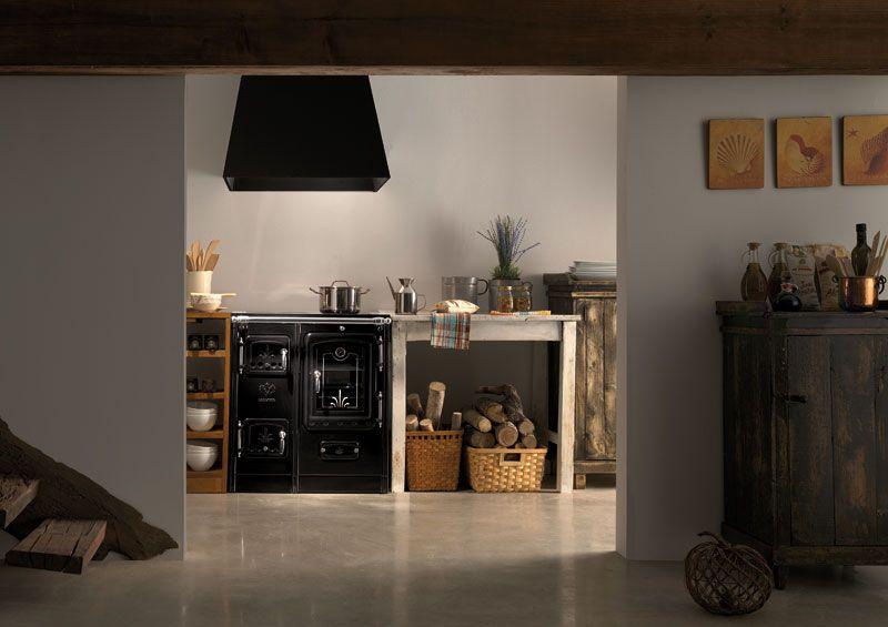 Lacunza cocina de le a certificada fabricada en hierro for Cocina hierro fundido