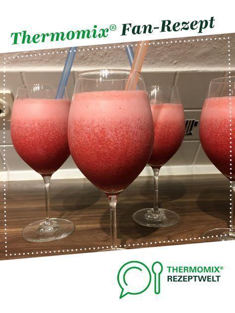Erdbeer-Kokos-Cocktail
