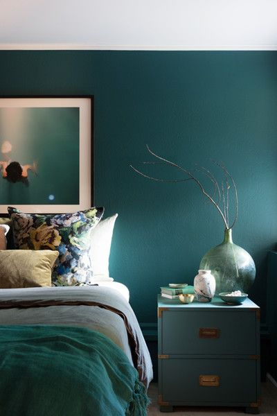 . Jewel Tones   Decorating Ideas in 2019   Jewel tone bedroom  Bedroom