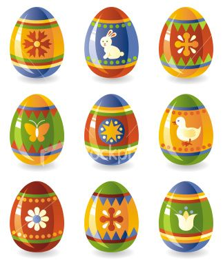 Easter Eggs Are Beautifully Decorated Eggs Which Are A Symbol Of