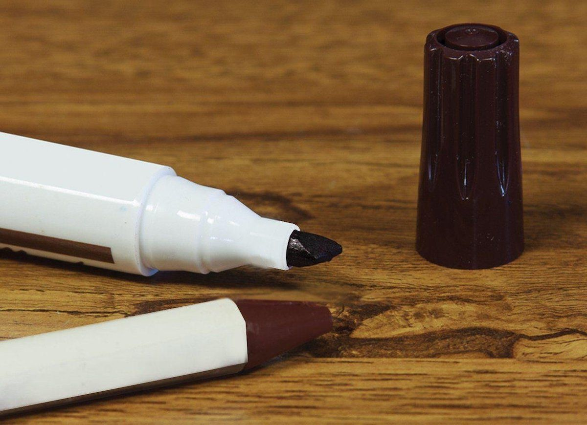 You Should Always Keep Matching Stain Pens And Furniture Pencils In Your  Junk Drawer. Reach