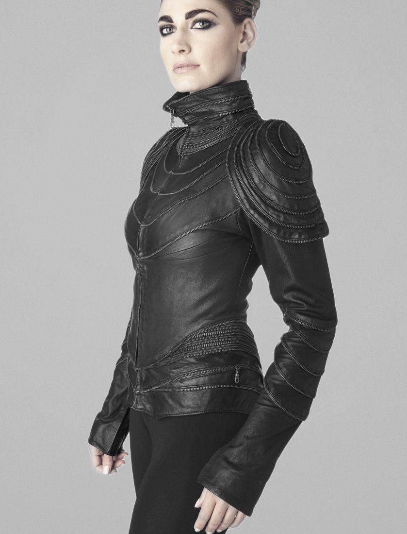 Zipper Jacket   Fashion, Cyberpunk fashion, Dark fashion