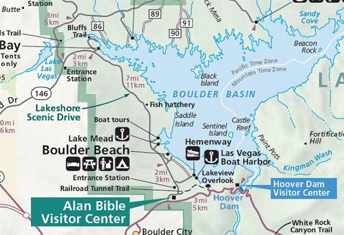Lake Mead Boulder Beach Hoover Dam Trip Nat Parks West