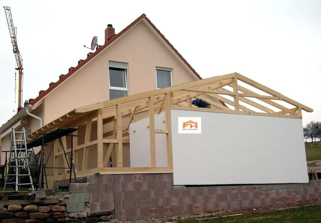 Architektur Holzanbau Haus Anbau Aus Holz Garage Kosten