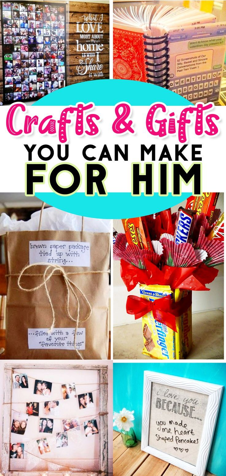26 Handmade Gift Ideas For Him Diy Gifts He Will Love For