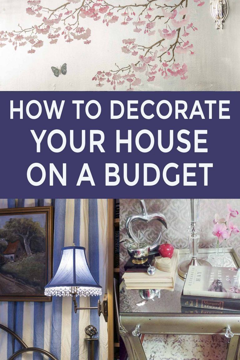 How To Decorate Your Home On A Budget Interior Decorating Styles