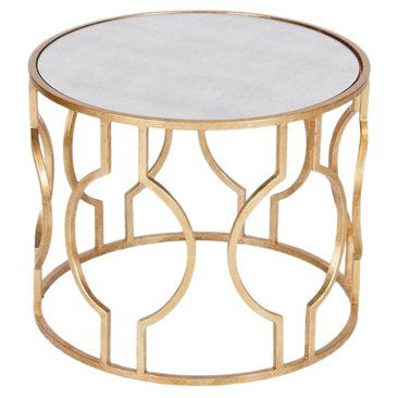 Check out this item at One Kings Lane! Lauri Cocktail Table, Gold