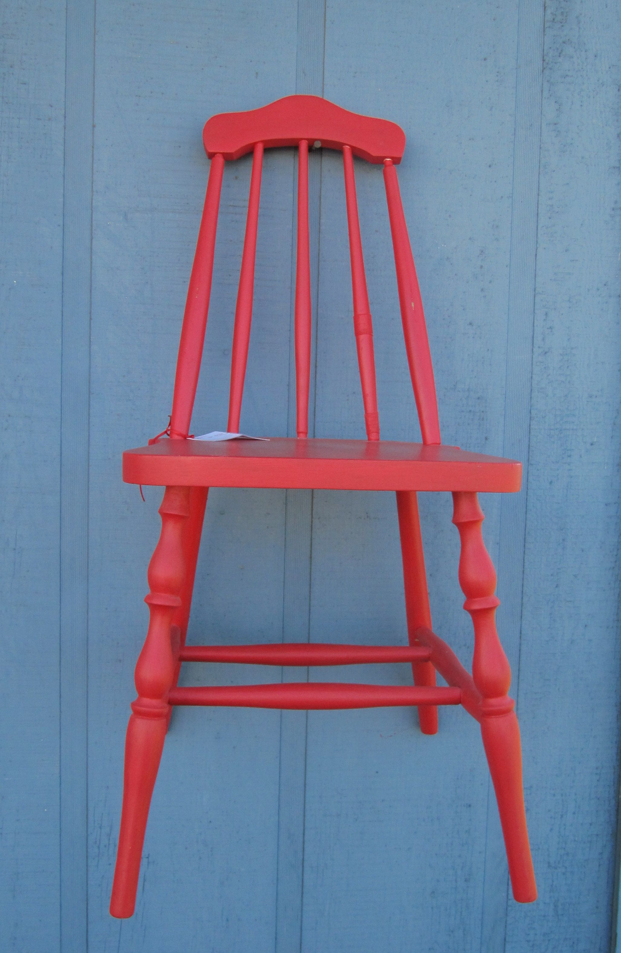 Incroyable Yummy Red Old Chair Found At U0027Ye Olde Paint Boxu0027 Antique Store In Longview