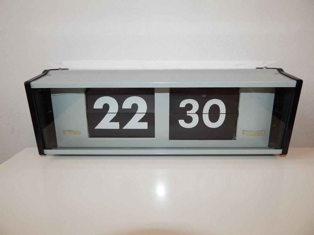 PRAGOTRON IPJ 0612 Metal Industrial Electrical Digital Clock ...