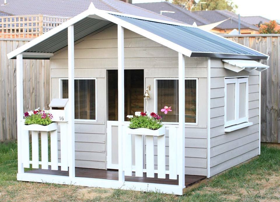 Aarons Outdoor Living Castle Cubby House