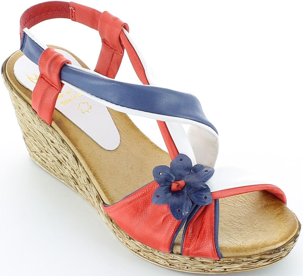 Sandale de damă Marila din piele.