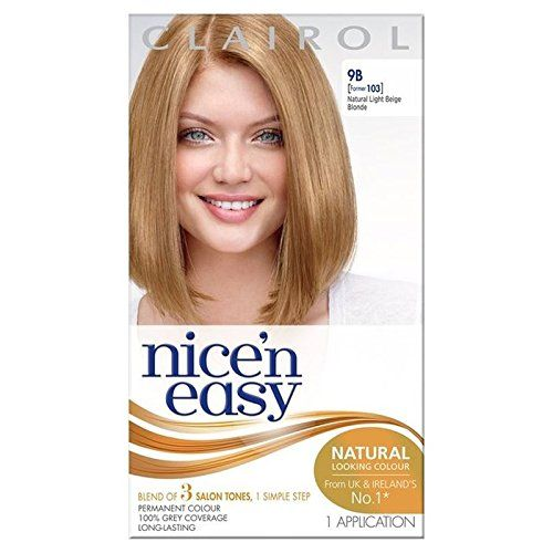 Introducing Nice N Easy Hair Dye Light Beige Blonde 9b Pack Of 2