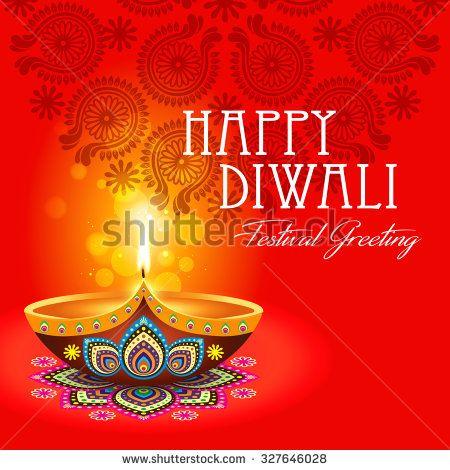 Beautiful greeting card for hindu community festival diwali happy beautiful greeting card for hindu community festival diwali happy diwali festival background illustration diwali m4hsunfo