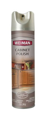Cleaning Products 20605: Weiman Cabinet Polish Lemon 12 Oz Pack Of ...