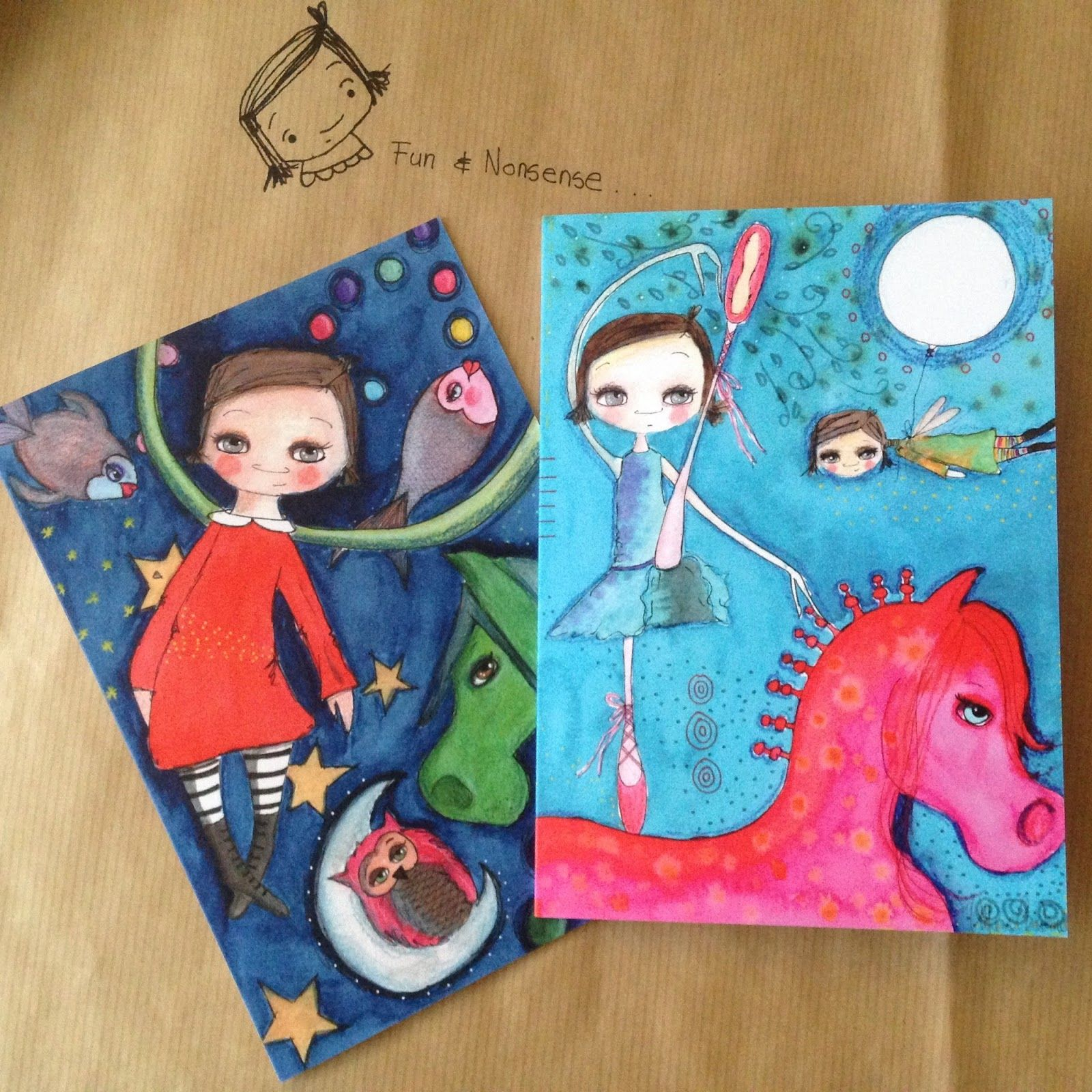 Roll up roll up fun nonsense blank greeting cards are here fun nonsense blank greeting cards are here full set 1 pack of 4 cards including postage p kristyandbryce Image collections