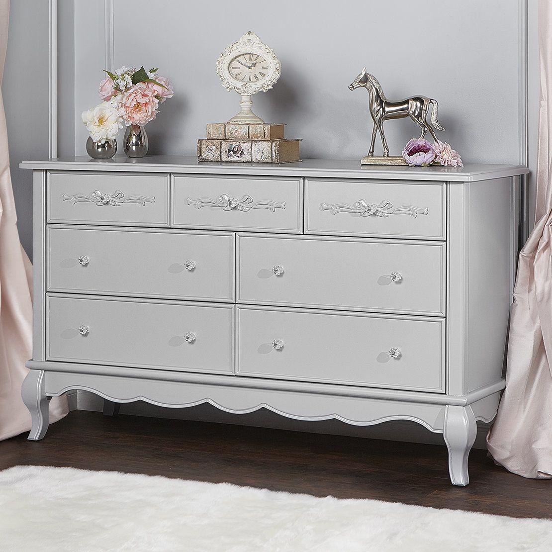Aurora 7 Drawer Dresser Shabby Chic Dresser 7 Drawer Dresser Furniture [ 1110 x 1110 Pixel ]