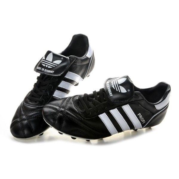 1abcd6ffdd345 adidas Profi FG Mens Soccer Cleats - Black White - adidas Soccer ...