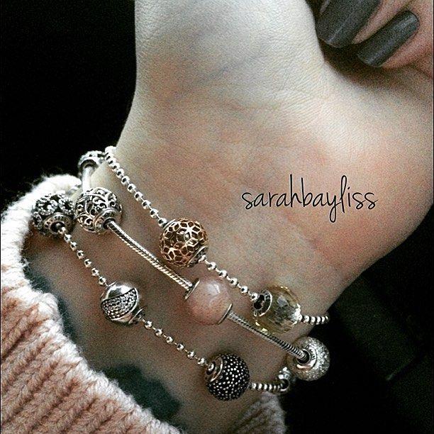 pandora bracciale essence a perline