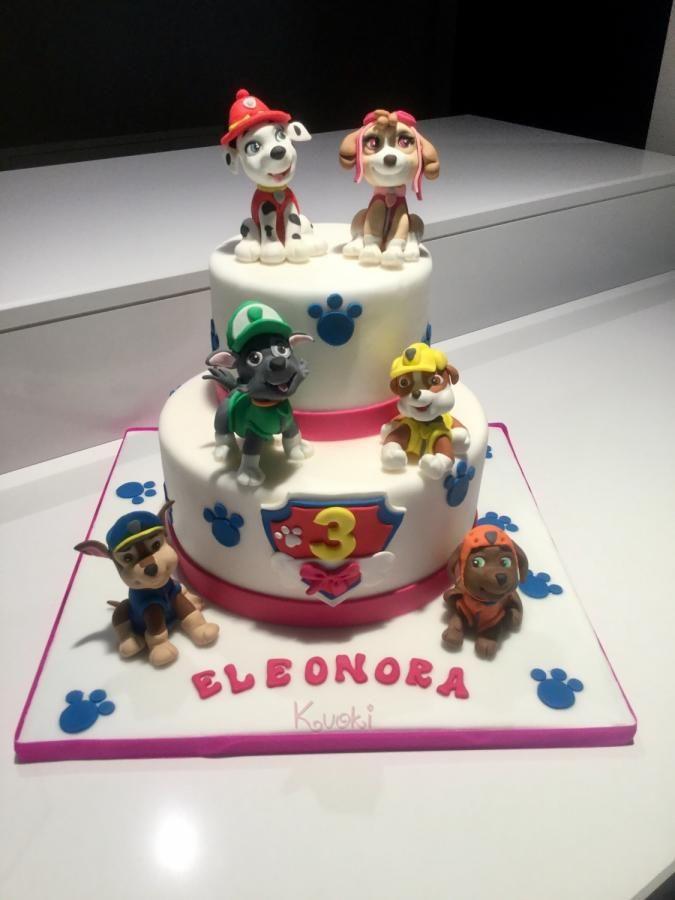 Pow+Patrol+cake++-+Cake+by+Donatella+Bussacchetti | Tartas ...