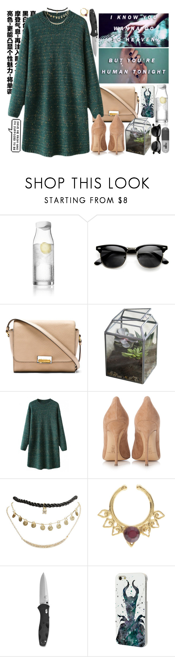 """""""Young God- Halsey // TAG"""" by yazzyf ❤ liked on Polyvore featuring Menu, Marc by Marc Jacobs, Dot & Bo, Casadei, Wet Seal and Disney"""