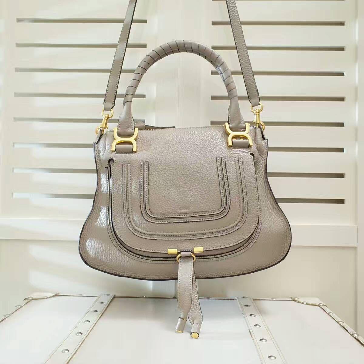 9d8b9118 Chloe Marcie handbag small grain calfskin size:38x26x12cm C8 ...
