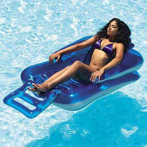 Inflatable Pool Lounge Chair