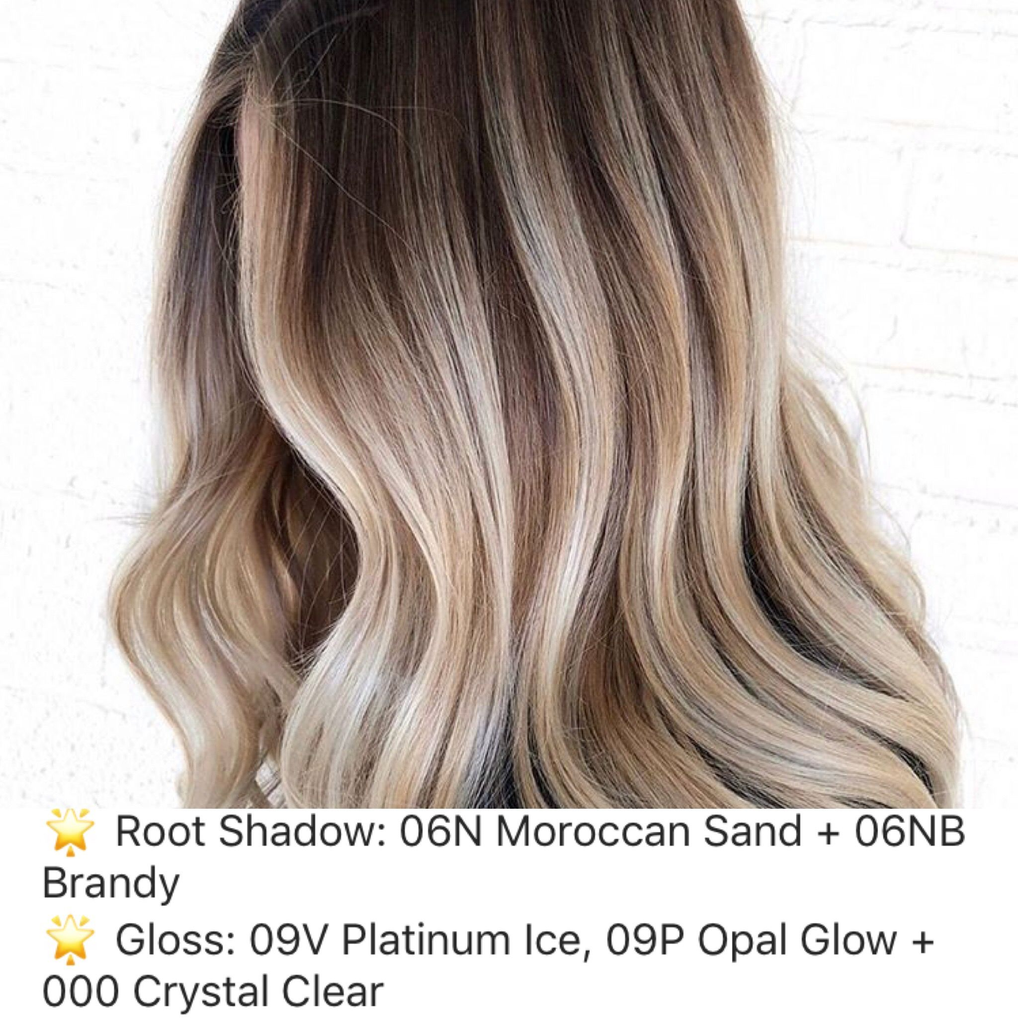 Pin By Melissa Scoran On Ombre Sombre Bayalage Root Shadow Ideas Redken Hair Color Hair Color Honey Blonde Hair