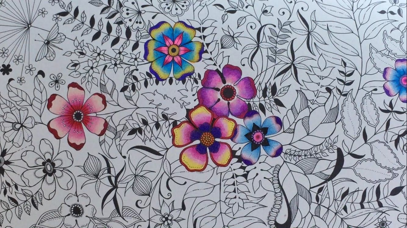 How I Color Using Colored Pencils Coloring Book Secret Garden By Johanna Basford Thank You For Watching Please Subscribe To My YouTube Channel Also