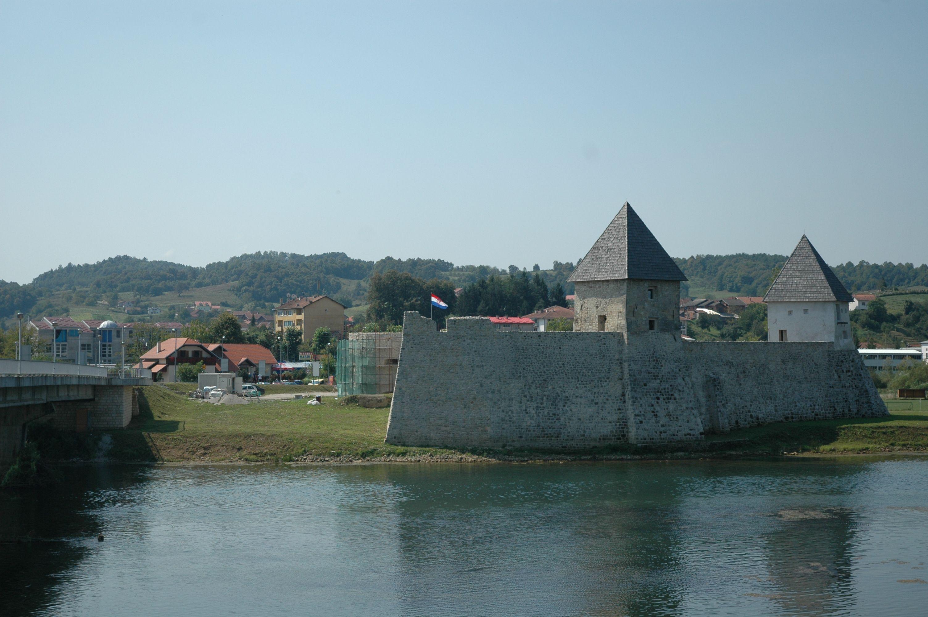 Hrvatska Kostajnica Castle Castle Croatia Croatian