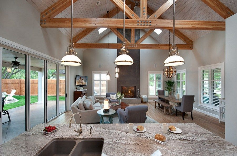 Image Result For Open Floor Plan With Kitchen Dining And Living Room Com Open Plan Kitchen Living Room Living Room And Kitchen Design Open Plan Kitchen Dining