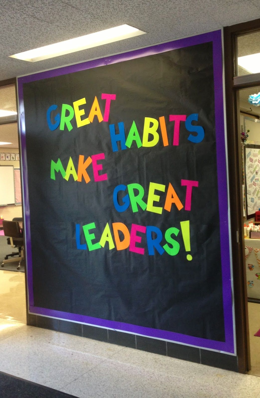 Back to school bulletin boards leadership google search for Back to school board decoration