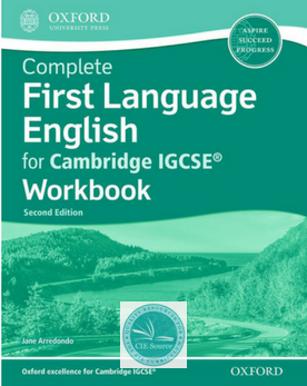 Complete First Language English For Cambridge Igcse Workbook Second Edition Paperback Cambridge Igcse First Language Workbook