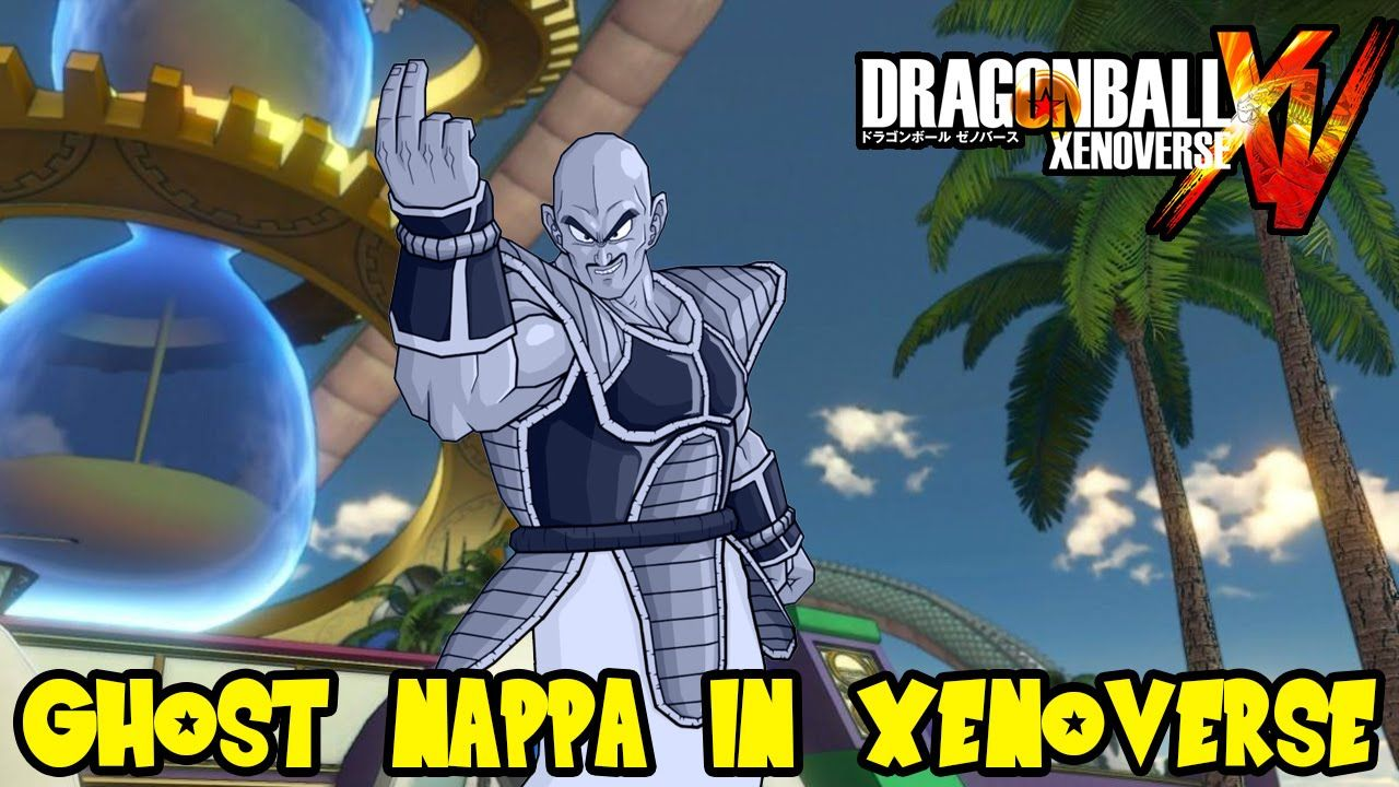 Dragon Ball Xenoverse Dbz Abridged Ghost Nappa Voice For Custom